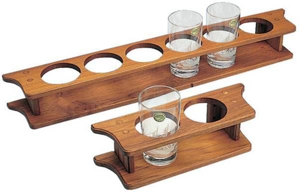 Bilde av Teak glassholder, 2 glass